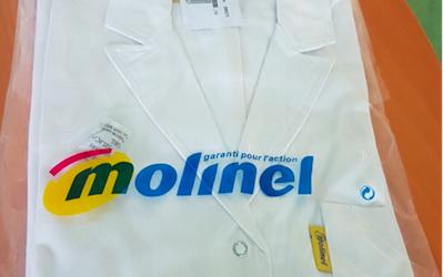Don de blouses de protection par LISI Aerospace