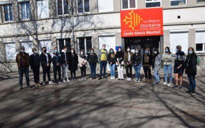 Accompagnant éducatif et social : une nouvelle promo au lycée Monteil de Rodez