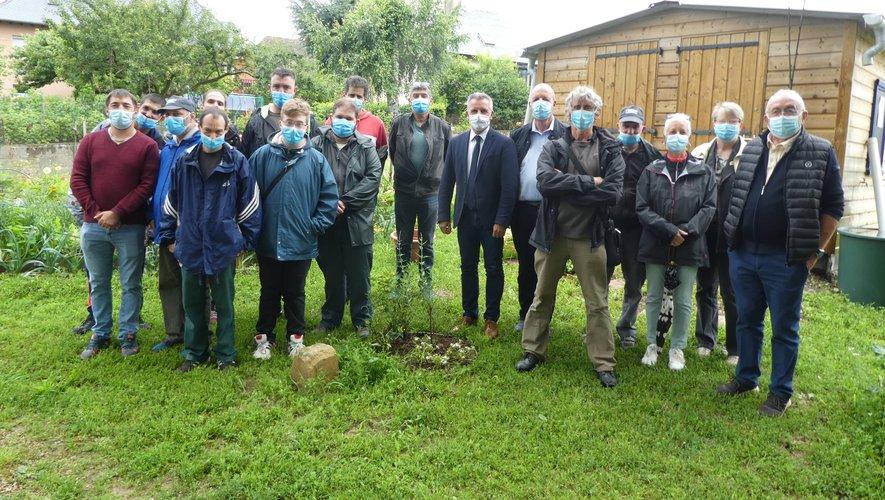 Jardins familiaux de Luc-la-Primaube : la réalisation des cabanes est confiée à l'Esat de Sébazac