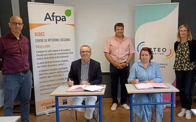 Aveyron : la fondation Opteo et l'Afpa unis pour favoriser l'insertion professionnelle