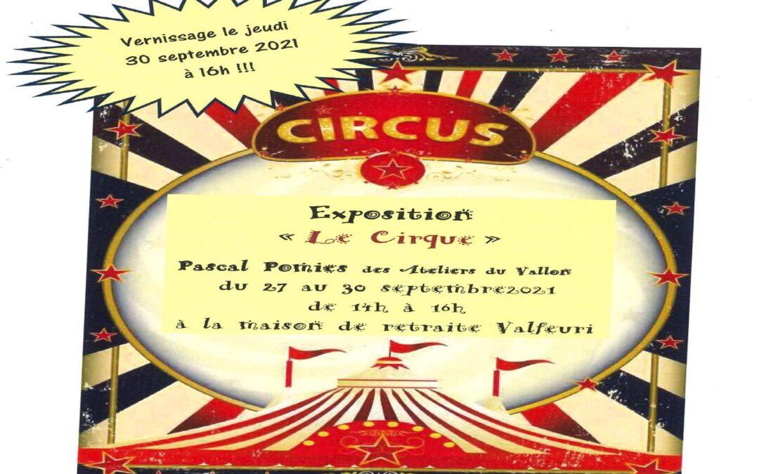 Exposition de Pascal Pomies de l'ESAT « Les Ateliers du Vallon »