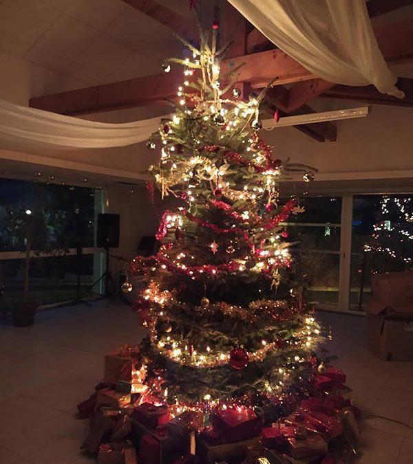Préparatifs de Noël au Colombier